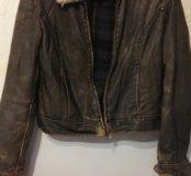Куртка иск кожа с утеплит