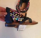 Новые кожаные сандали U.S.Polo Assn .