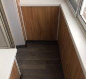 Установка, отделка, утепление окон/балконов