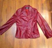 Натуральная кожа ,пиджак,куртка