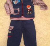 Новый детский костюм на Флисе