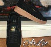 Кроссовки Puma by Rihanna creeper чернея