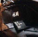 Кожаная куртка HM