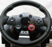 Руль Logitech Driving Force GT новый