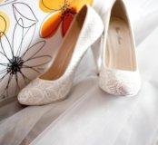 Свадебные туфли. Состояние отличное