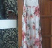 Длинная модная юбка