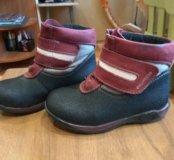 Весенние ботинки для девочки