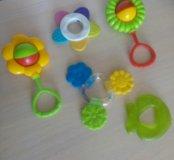 Пакетом игрушки погремушки прорезыватель зубов