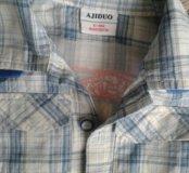 Джинсы и рубашки размер 1г-1,5г