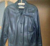 Весенняя коженная куртка