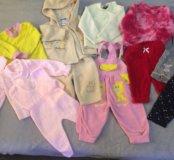 Одежда для девочки на весну