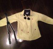 Желтая рубашка(1,5-2 года)