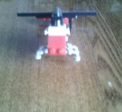 Лего вертолет