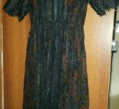 Туника платье черне m