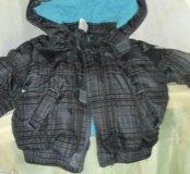 Куртка теплая зима , весна , осень 1,5 года