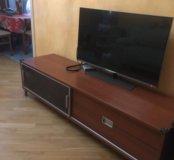 Удлиненная тумба под телевизор