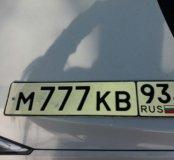 Продам автомобильный номер 777