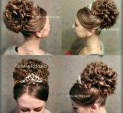Прическа,свадьба,выпускной