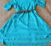 Платье на девочку 7-9 лет
