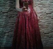 Платье бальное (на выпускной )