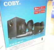 Новый DVD домашний кинотеатр COBY DVD760 РА