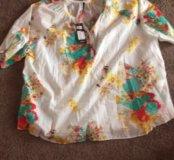 Блуза хлопковая новая