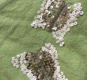 Кроп кофта wool & cotton