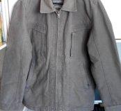 Демисезонная мужская плотная куртка