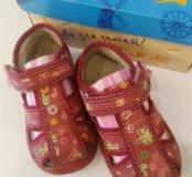 Туфли сандалии детские 24 размер