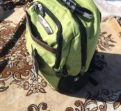 Новый зелёный рюкзак swissgear городской тип