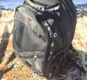 Чёрный добротный рюкзак swissgear новый в упаковке