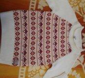 Новый свитер для девочки