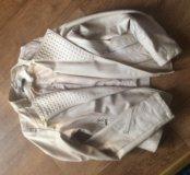 Куртка кожанка мохито