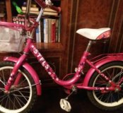 Велосипед дет. Stels JOY..для девочек
