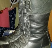 Ботинки зима кожанные