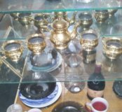 Сервиз чайный,золото.