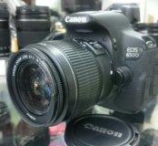 Фотоаппарат Canon 650d kit 18-55