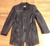 Куртка - пиджак натуральная кожа