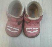Ботиночки на весну 19 размер на девочку.