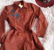 Новое платье-рубашка