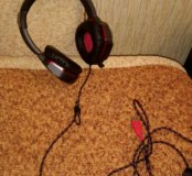 Наушники с микрофоном А4 Bloody G501 (новые)