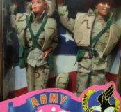 Новый набор кукол Барби и Кен в армии.