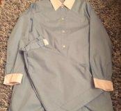 Комплект рубашка удлиненная + бермуды,рM