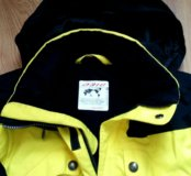 Новая спортивная зимняя куртка Descente