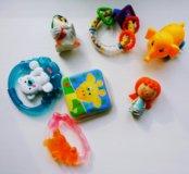 Погремушки, прорезыватели,игрушка