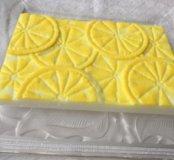 """Мыло ручной работы """"Лимонная плитка"""""""