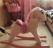 Лошадка качалка для девочки