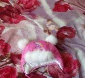 Шапка зимняя кофточка сарафанчик и платье