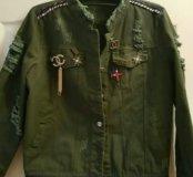 Куртка в стиле Шанель