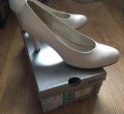 Туфли Gabor Германия свадебные размер 38
